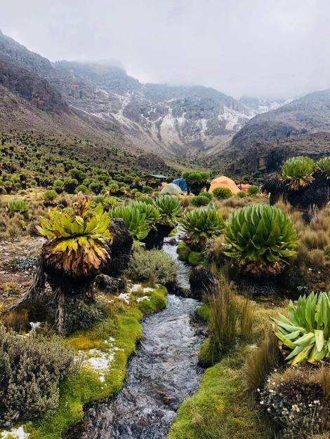 Mt Kenya, Luisa Espovito Melvin